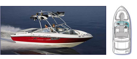 Sea Ray 205 Boat